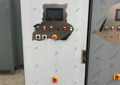 Quadro elettrico con PLC industria tech